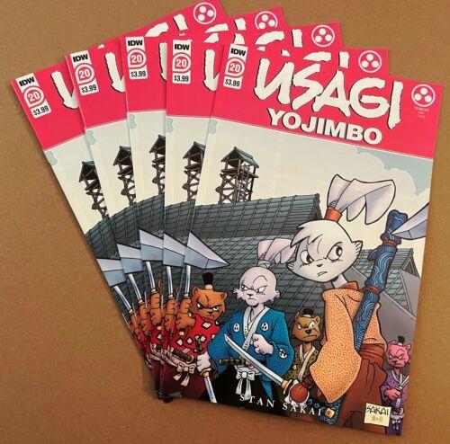 Usagi Yojimbo #20 Cover A 1st appearance Yukichi Yamamoto Stan Sakai IDW 2021
