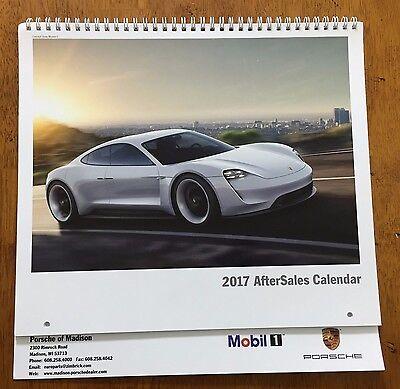 2017 Porsche AfterSales calendar