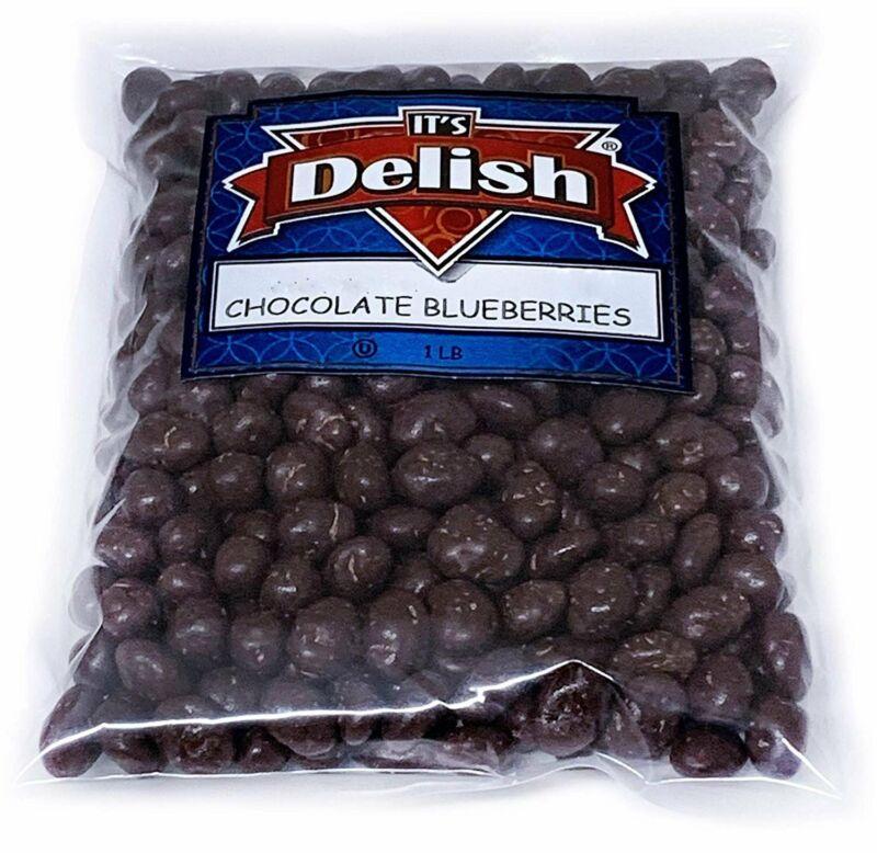 Gourmet Dark Chocolate Covered Blueberries by It