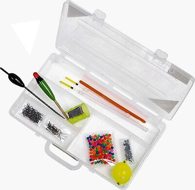 Course Fishing Starter Set - Basic Essentials [#19-3002] Match Tackle Box #f