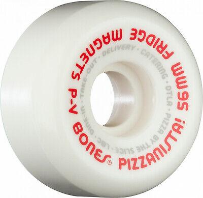 Bones SPF P2 Reflection 56mm 84B Skateboard Wheels Free Independent Bearing