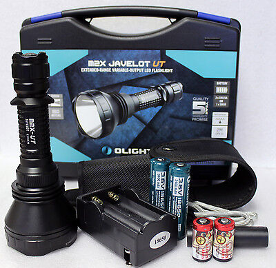 Onlight M2x-ut 1020lm Led Flashlight Recharge Kit 2x 1865...