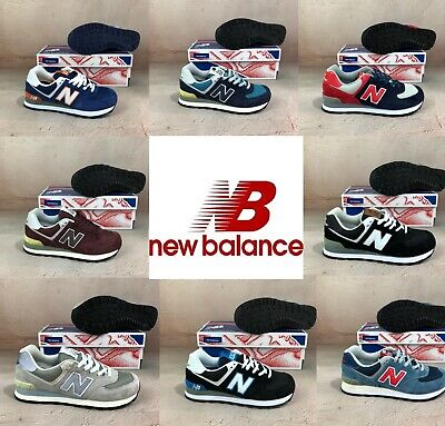 New Balance NB574 Classic Suede & Textile Retro Trainers in All Sizes