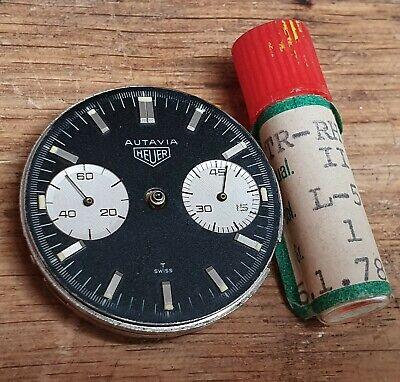 Vintage Heuer 3646 Autavia Andretti Chronograph Valjoux 92 Panda Dial