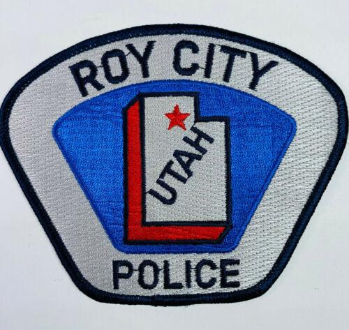 Roy City Police Weber County Utah UT Patch