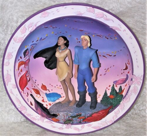 Disney Pocahontas Colors Of The Wind 3D Collectible Plate LE #7321/7500