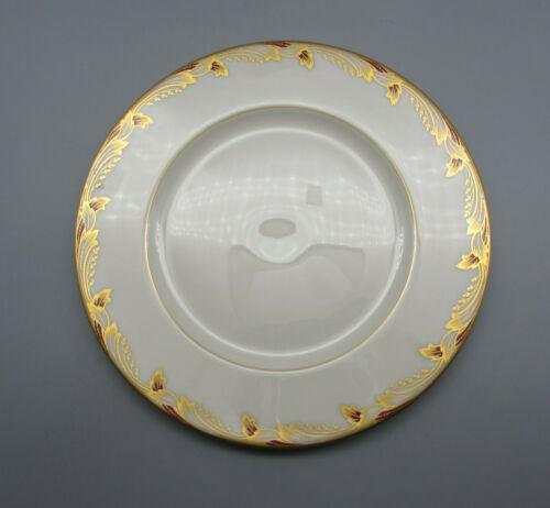Lenox Fine China Essex - Maroon Salad Plates - Set of Two