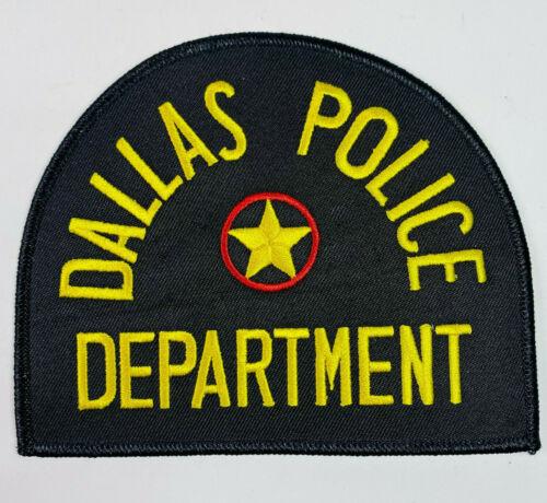 Dallas Police Texas TX Patch A5D