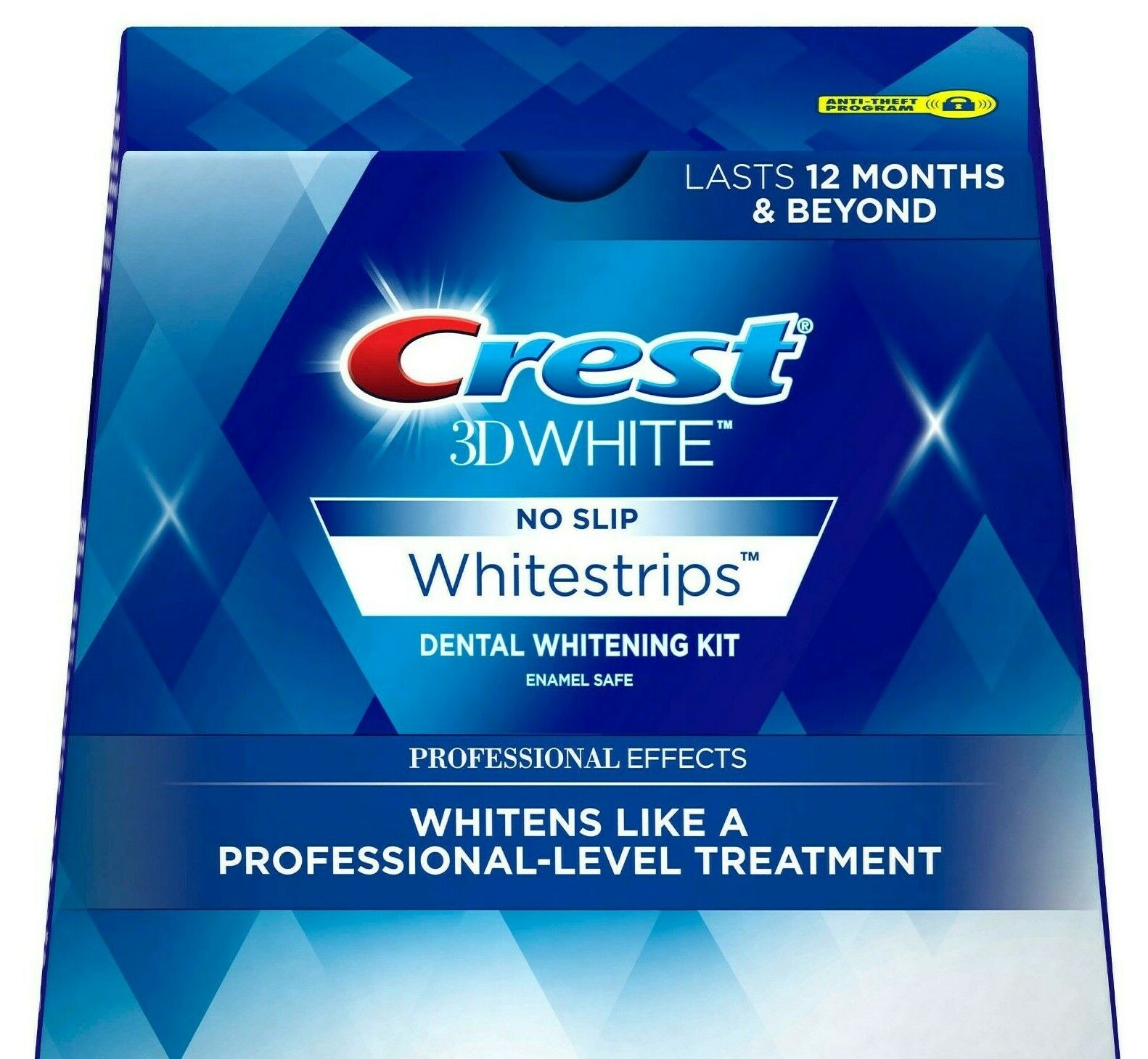 Crest Whitestrips Professional Effects 3D White 20 Strips 10