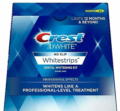 Crest 3D White Whitestrips Professional Effects 10 Treatments 20 Strips No