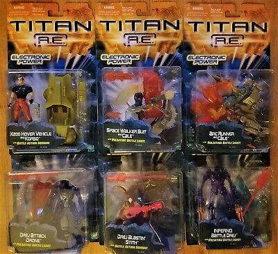 Original Hasbro 2000 Titan A.E. AE Action Figures Lot/Set of