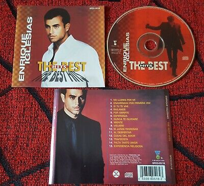 ENRIQUE IGLESIAS ***The Best Hits*** ORIGINAL 1999 USA