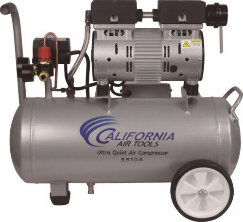 CALIFORNIA AIR TOOLS 5510A Ultra Quiet & Oil-Free Air Compressor - USED