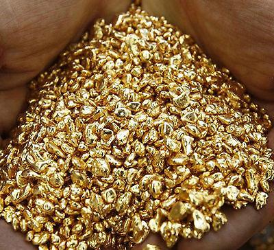 1/2 Gram 14k Gold Super Clean Cast  Ready Refined  Gold Shot ,Bullion, Not Scrap