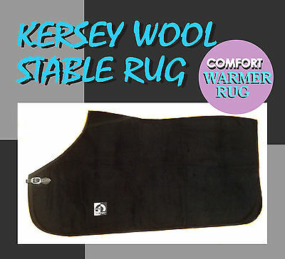 clearance Sale 25% Off Comfort 5'0 Kersey Wool Horse Rug