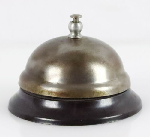 True Vintage Dome Top Counter Service Bell Shop Hotel Store Call Mid Century EX