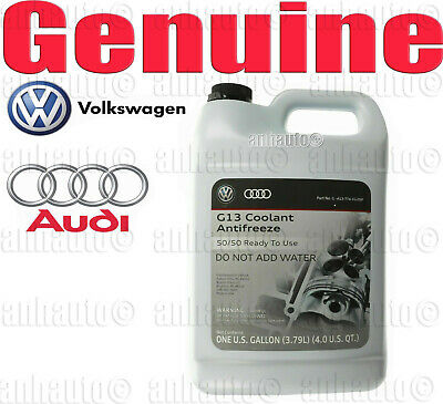 Genuine Volkswagen  Pre Mix Pink Coolant Antifreeze 1 Gallon