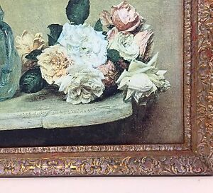"""""""Roses and a glass Pitcher"""" by French artist Henri Fantin-Latour Cashmere Pine Rivers Area Preview"""