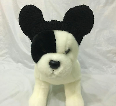Pet Clothes Apparel Hand-Made Knit Mickey Mouse Costume Headband  Small Dog  - Dog Mickey Mouse Costume