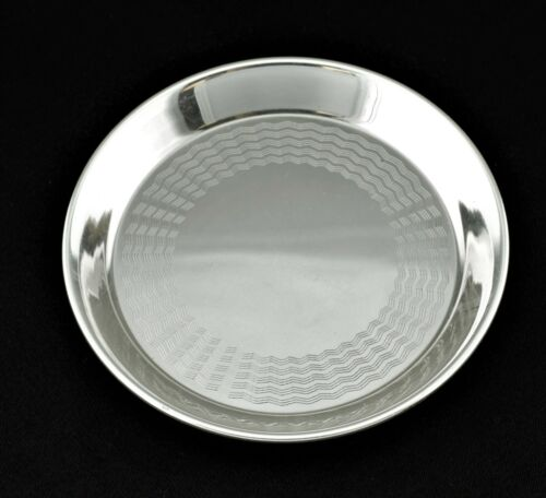 JUDITH Sterling Silver Butter Pat Small Dish No Monogram
