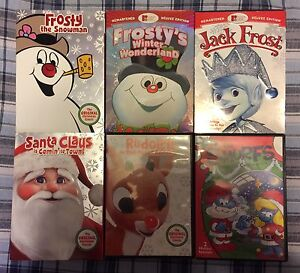 Classic Christmas Cartoons - Dvd Collection.