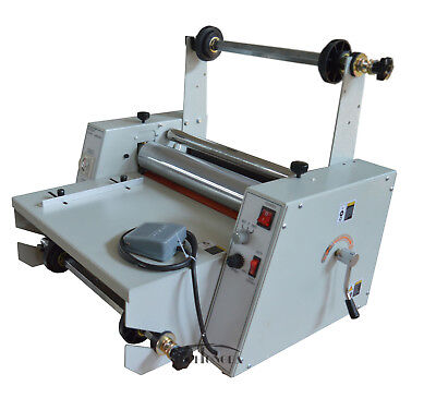15in Laminator Stainless Steel Roller Singledual Sided Thermal Cold Laminating