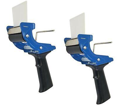 Set Of 2 - Tape Dispenser Gun 3 Inch Mousetrap Style Light Durable Tape Gun
