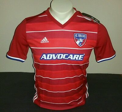 89d18c110 Adidas Youth FC Dallas Home Jersey 15 16