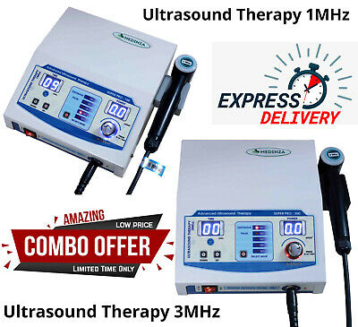 New Ultrasound Therapy Machine Ultrasound Physiotherapy 1mhz 3mhz Therapy Unit