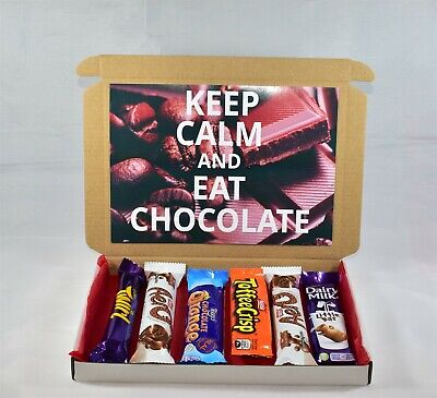 Keep Calm Chocolate Selection Box - Gift Hamper - Perfect Gift