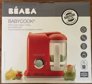 BEA BA Babycook 4 in 1 Steam Cooker and Blender, 4.5 cups