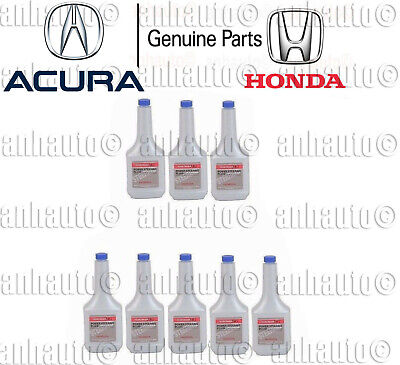 Pack of 8 (12oz Bottle) Genuine Power Steering Fluid for Honda Acura 082069002