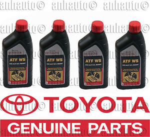 2003 toyota corolla manual transmission fluid type