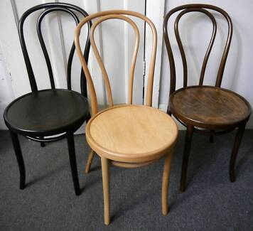 New Cafe Restaurant Fameg Timber Embossed Bentwood Dining Chairs