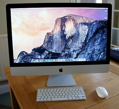 "Apple iMac 27"" i7 Quad core 3.4Gz High Sierra"