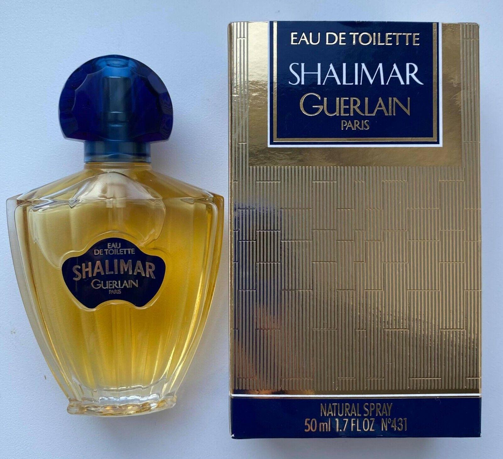 guerlain SHALIMAR EAU DE TOILETTE 50 ml 1.7 fl oz VINTAGE 1996 YEAR