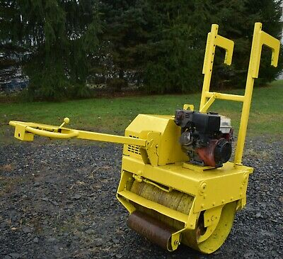 2010 Multiquip V304eh Walk Behind Vibratory Smooth Drum Compactor Roller