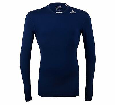 Adidas Men's Techfit Base Long Sleeve, Color Options (Adidas Techfit Long Sleeve)
