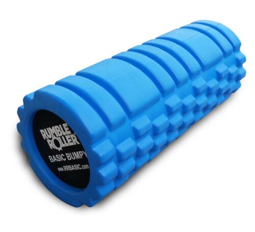 RumbleRoller Basic Bumpy Foam Roller, Solid Core EVA Foam Roller