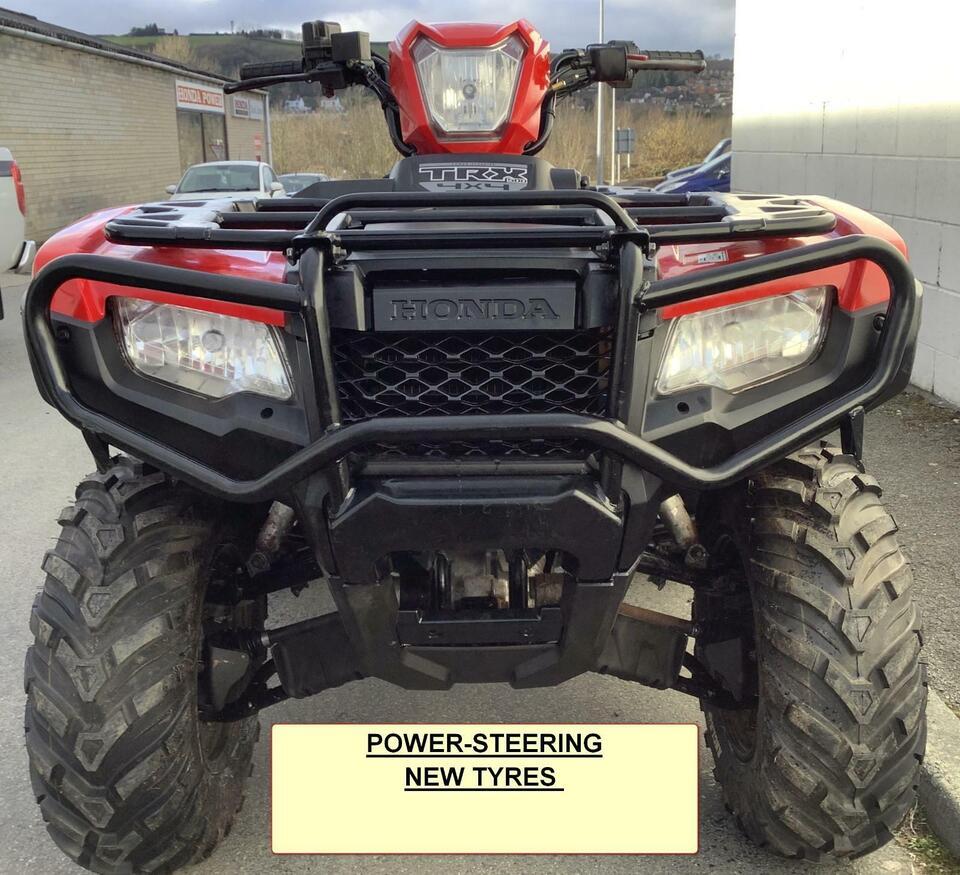 2018 HONDA TRX500 FM MANUAL IRS P/S FOREMAN 4x2x4 4WD QUAD ATV FOUR WHEELER