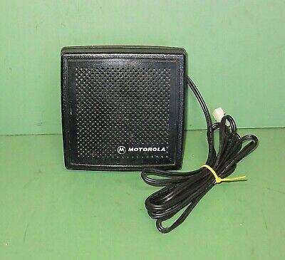 Motorola Model Hsn4031b External Speaker Black Police Fire Cb Radio