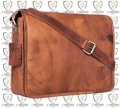 - Mens Leather Laptop Bag Designer Ladies Shoulder Cross Body Work Messenger Case