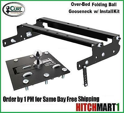 Gooseneck Package (FOLDING BALL GOOSENECK HITCH PACKAGE FOR 1999-2016 FORD F250, F350 SUPER)