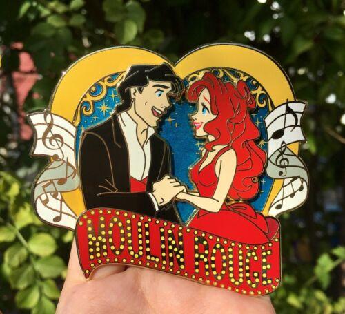 Disney Fantasy Pin Moulin Rouge Eric Ariel Little Mermaid LE Musical Masterpiece