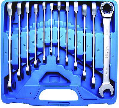 BGS 30900 Ratschenring Schlüsselsatz 72 Zähne Maulring Ratschenschlüssel 8-19 mm