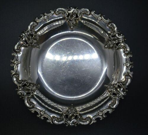 "Wallace Grande Baroque Sterling Silver Bon Bon / Candy Dish - 6"" - 81g"