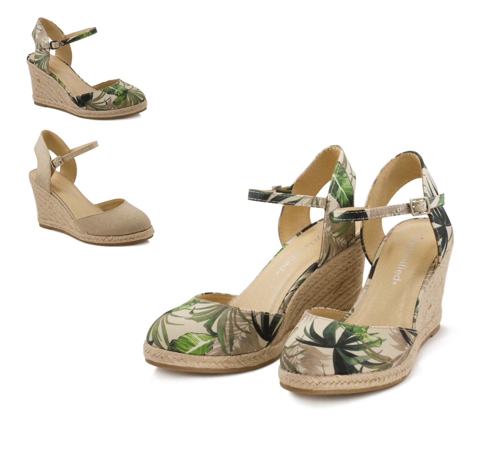 women s closed toe ankle strap espadrille