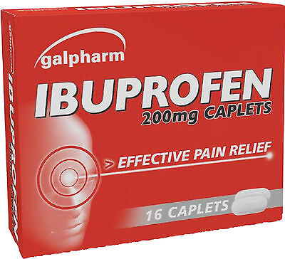Galpharm Ibuprofen 200mg Tablets 16 Pack - Effective pain Relief