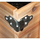 Trailer Wood Sides Latch Rack Stake Body Gates Corner Brackets 1 set 4 pc PK-SB