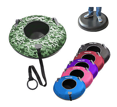 Slippery Racer XL Hard Bottom Snow Tube Inflatable Sled Nylon Cover Set CAMO